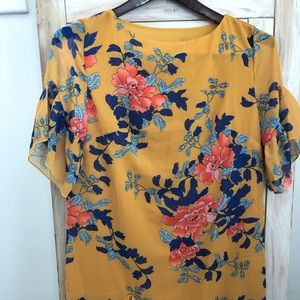 Cupshe Size M Lined Multi-Colored Dress NWT